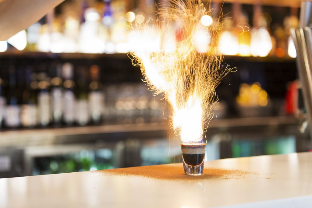 Flaming Charlie | Gallery | Charlie Chans