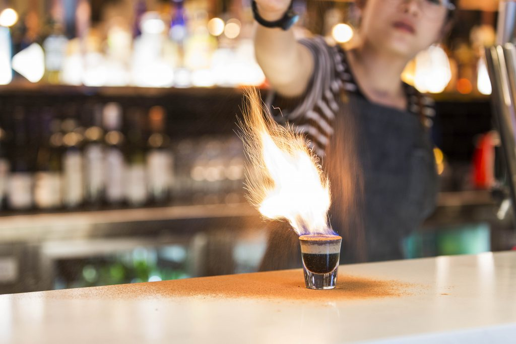 Flaming Charlie | Drink | Charlie Chans