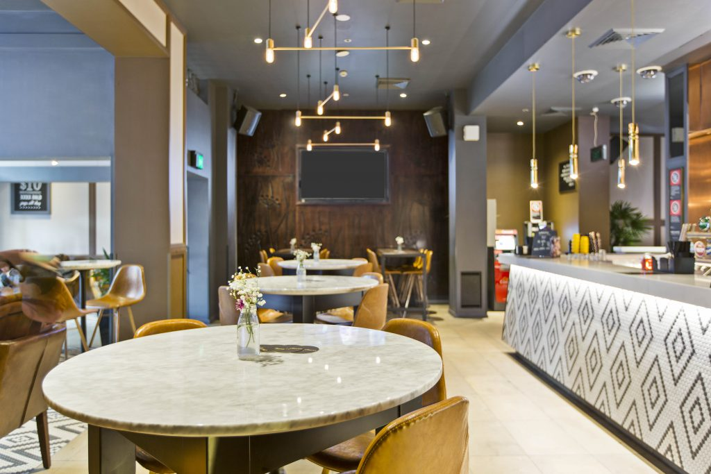 Restaurant Seating Area | Food | Charlie Chans
