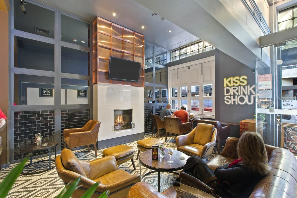 Indoor Seating Area | Gallery | Charlie Chans