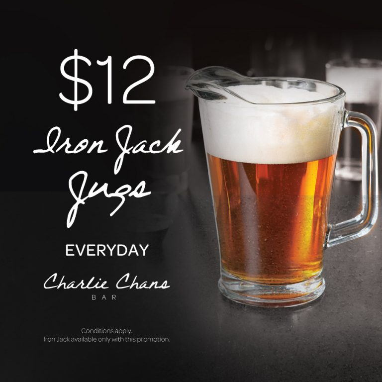 Cheap Beer Jugs | What's On | Charlie Chans