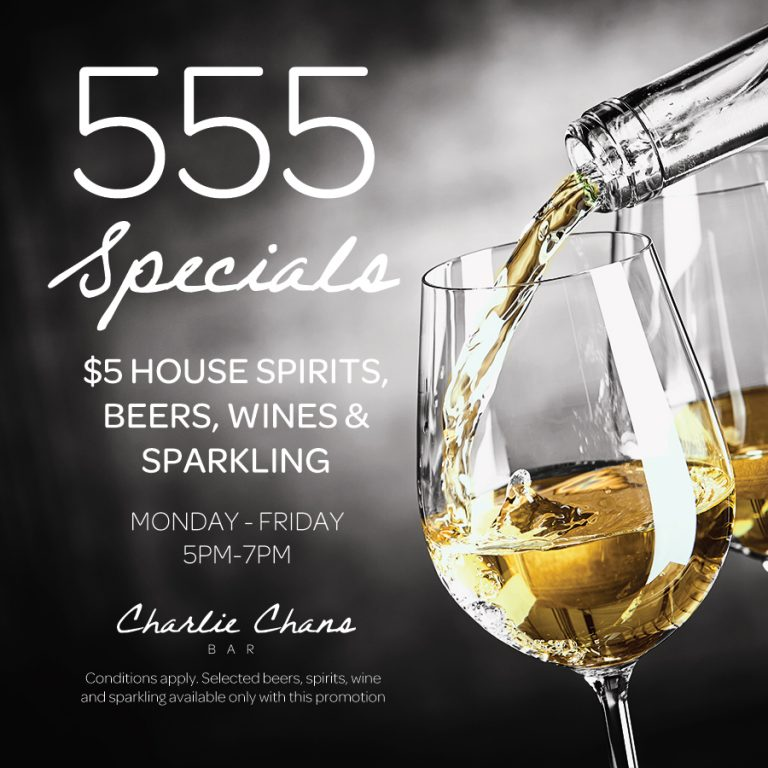 Weekly Drink Specials | Charlie Chans