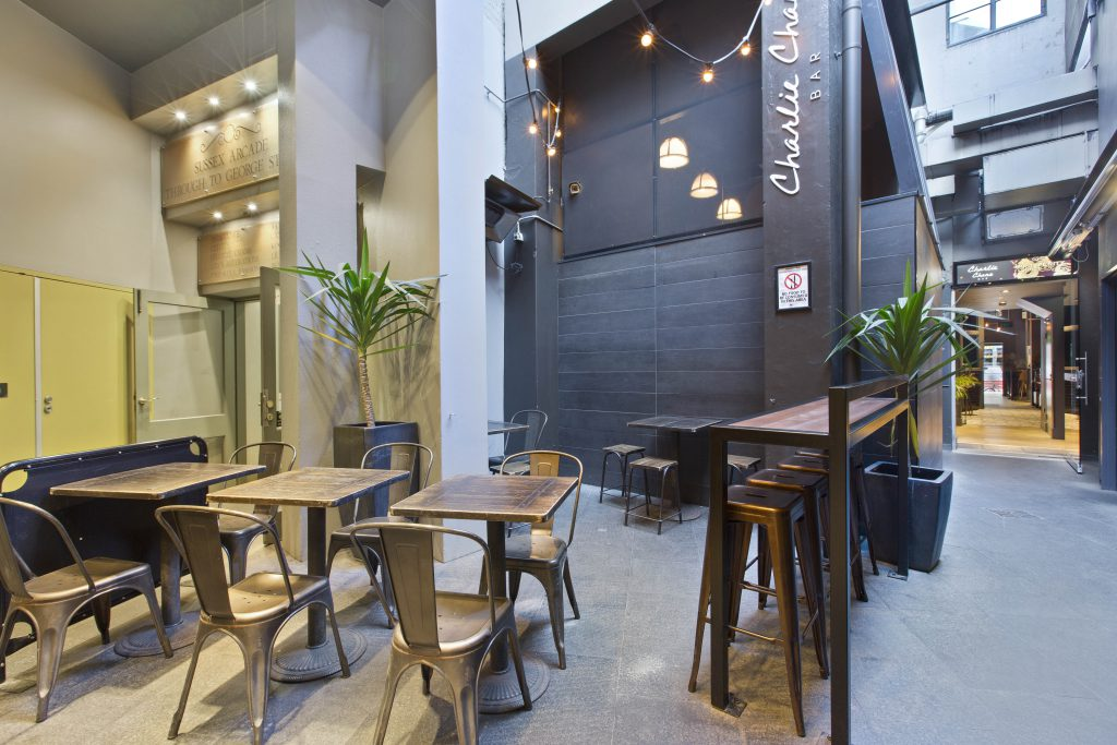 Outdoor Seating Area | Food | Charlie Chans