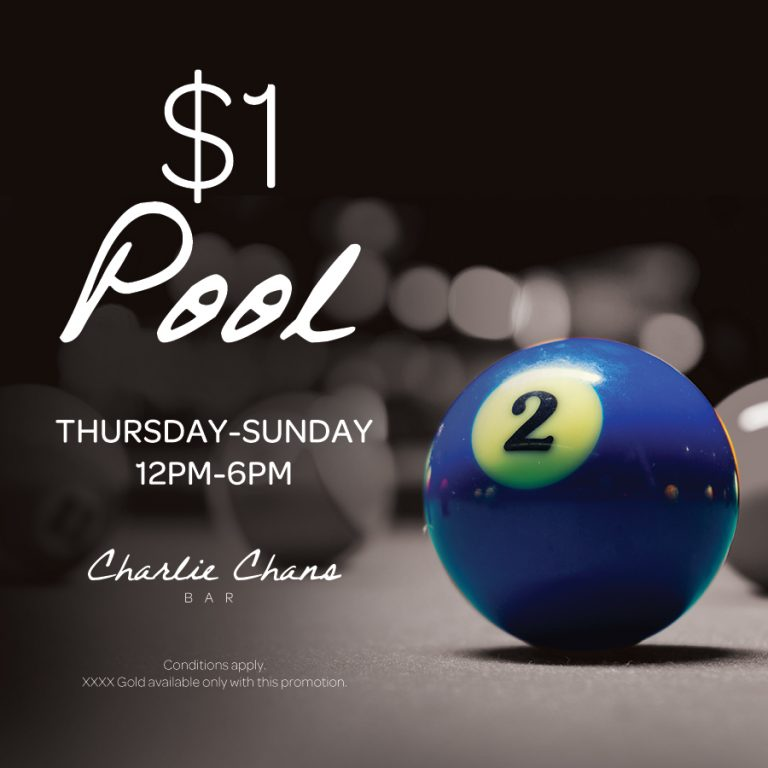 Weekend Pool Special | Charlie Chans