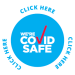 COVID Safe Badge - Charlie Chans