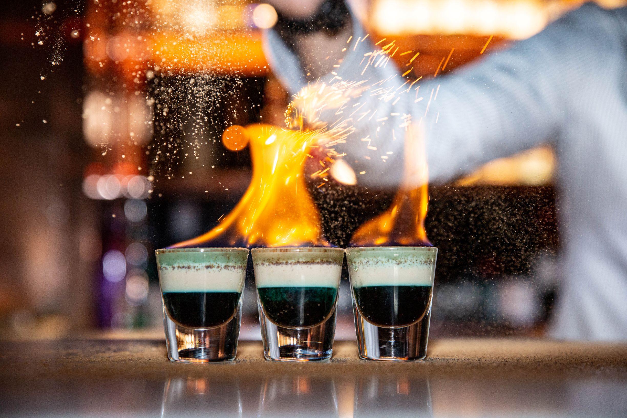 Cocktail Menu Items - Charlie Chans