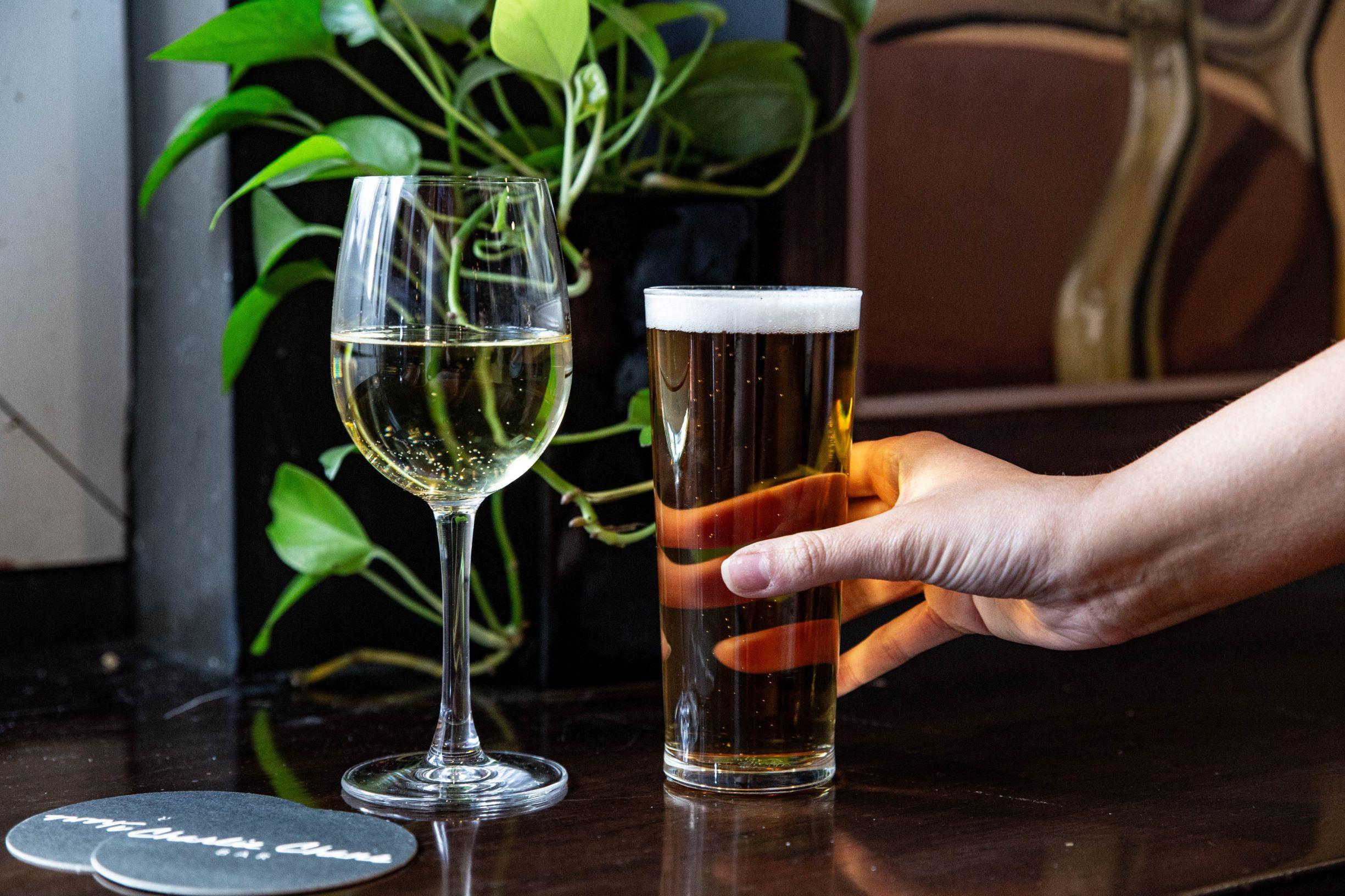 Alcohol Menu Items - Charlie Chans